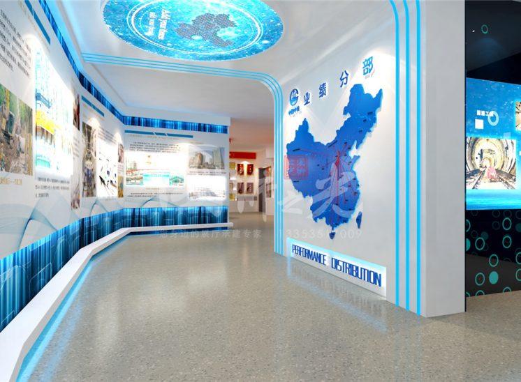 中国中铁六局展厅方案04