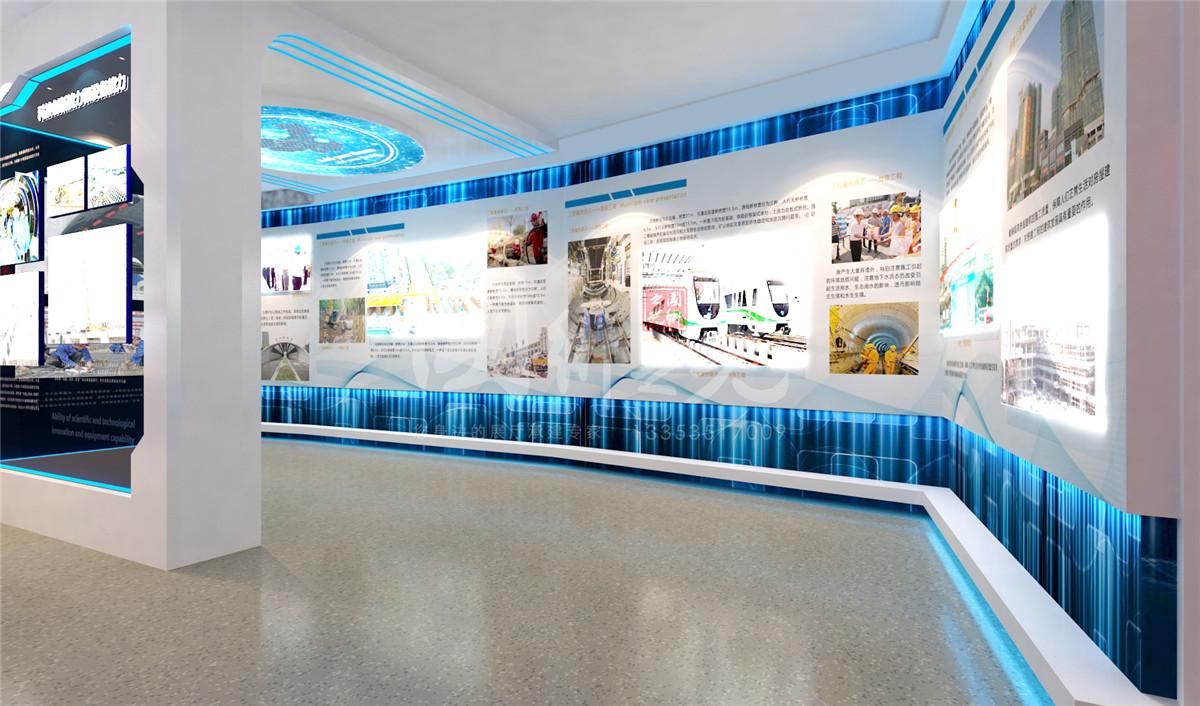 中国中铁六局展厅方案05