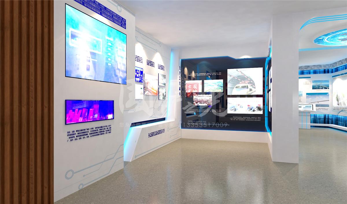 中国中铁六局展厅方案08