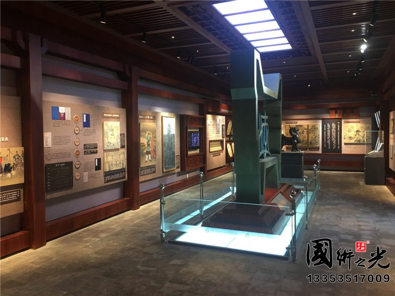 中国(平遥)监察文化博物馆正厅实景展示01